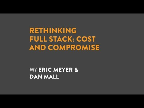 Rethinking Full Stack: Cost and Compromise