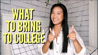WHAT TO BRING TO COLLEGE // My College Essentials!