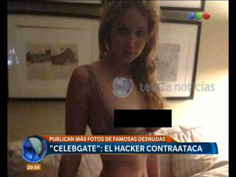 Publican fotos de famosas desnudas - Telefe Noticias