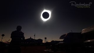 What a TOTAL ECLIPSE looks like - Apocalypse!
