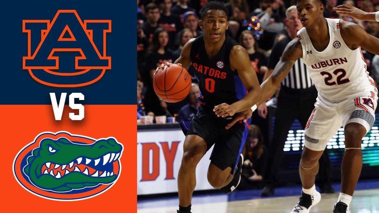4 Auburn Vs Florida Highlights 2020 College Basketball