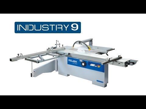 ROJEK - dřevoobráběcí stroje, řada INDUSTRY 9