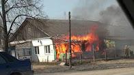 Пожар на ул.Чкалова