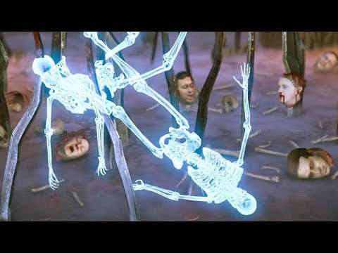 Mortal Kombat XL - All Stage Fatalities on Ice Skeleton Costume Mod 4K Ultra HD Gameplay Mods