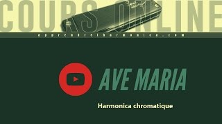 Ave Maria - F. Shubert - Harmonica chromatique - Paul Lassey