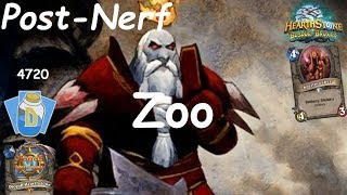 Hearthstone: Zoo Warlock Post-Nerf #1: Witchwood (Bosque das Bruxas) - Standard Constructed