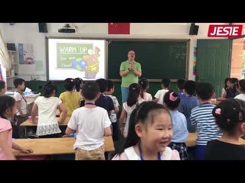 """Teaching English in China - Public School Grade 1 ESL - """"How are you?"""" (Full Class)"""