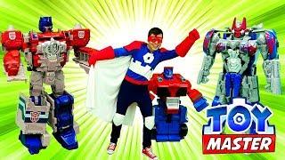 Той Мастер. Супергерой против Мегатрона и Клонов