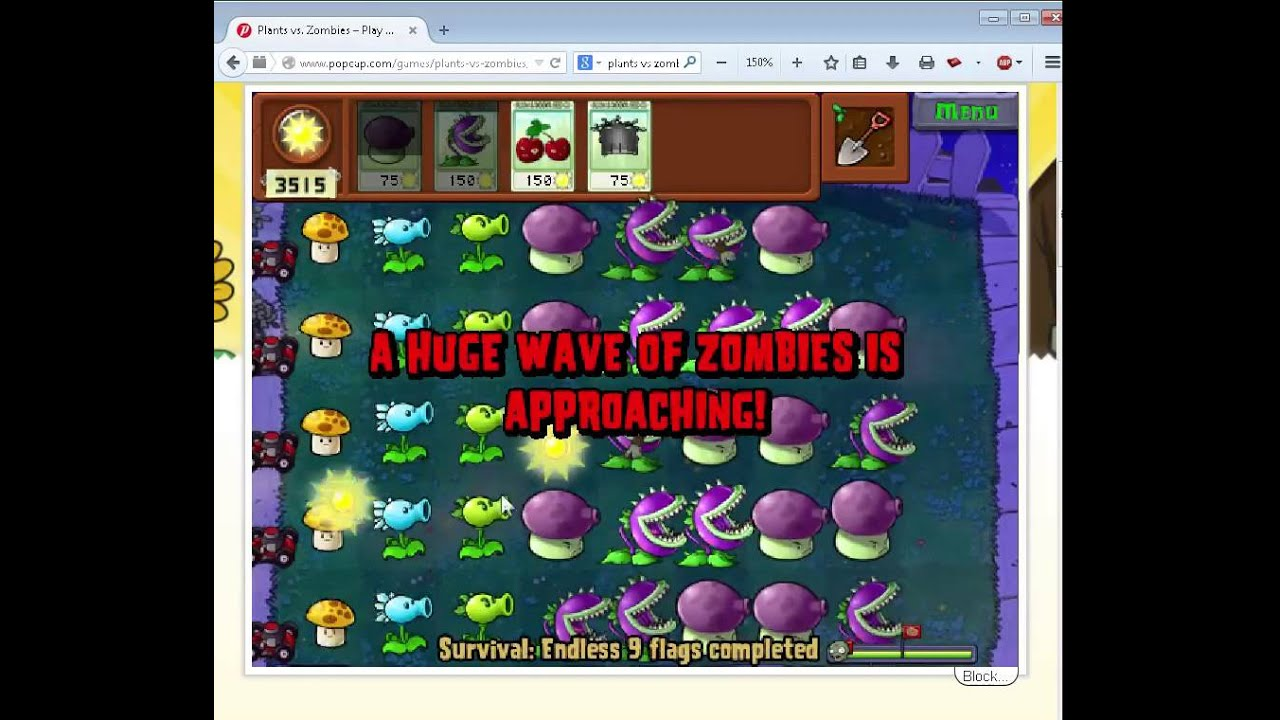 Plants vs. Zombies How To Play