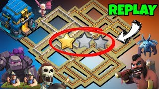 'SPECIAL' TH12 WAR BASE 2018(Layout) Anti 2 Star With 2 Replays Anti BoWitch Anti Queen Walk PROOF!!