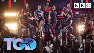 Diversity and the dance captains give an EXPLOSIVE performance | The Greatest Dancer - BBC