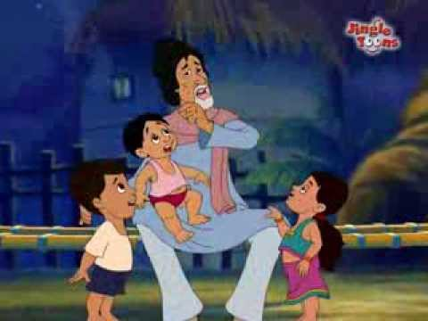 "Must watch - Amitabh Bachchan Hindi Song ""Aao Bachho"" in Animation by Jingle Toons"