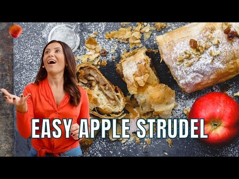 A Healthier Apple Strudel With Phyllo Dough | The Mediterranean Dish