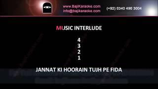 Jane baharan rashke chaman - Video Karaoke - Saleem Raza - by Baji Karaoke