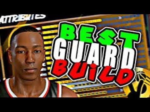 NBA 2K18 - BEST POINT GUARD BUILD! SHOT CREATOR SLASHER ...