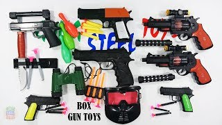Many Black Gun Toys Realistic For Kids Playing Shoot - Gun Toys For Kids And Son