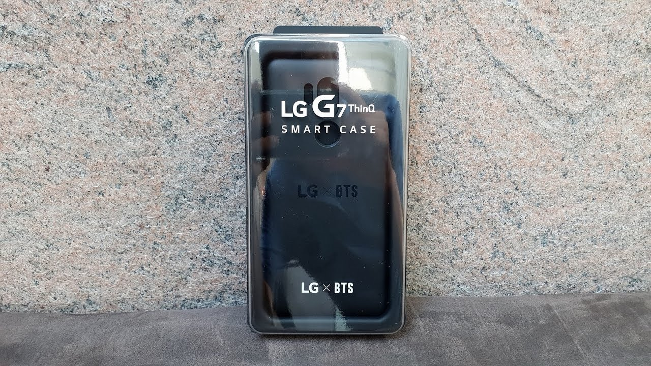 pretty nice ca510 655d2 LG G7 ThinQ BTS smart case review