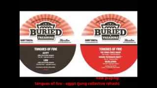 "NEW! TONGUES OF FIRE PATHWAYS E.P. 5 TRACK 12"" ON BURIED TREASURE"