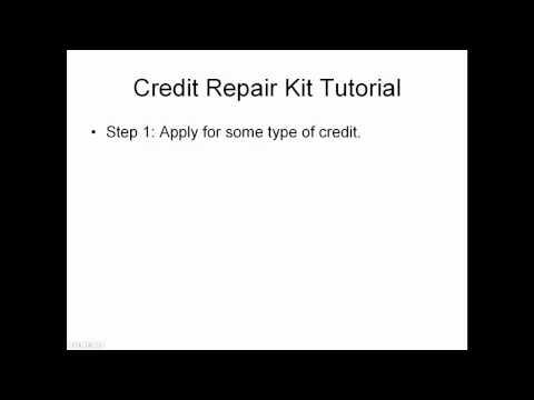 Credit Repair Dispute Letter Kit Tutorial (Part Two)