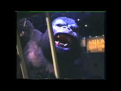 King Kong The Ride Universal Studios 1995