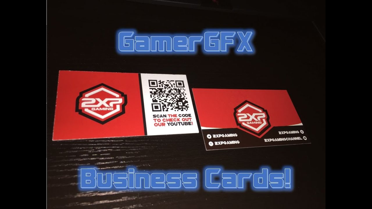 Business cards by gamergfx printing youtube business cards by gamergfx printing magicingreecefo Image collections