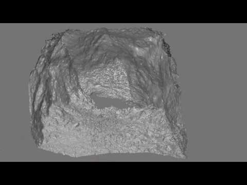 Underwater 3D Mapping Test