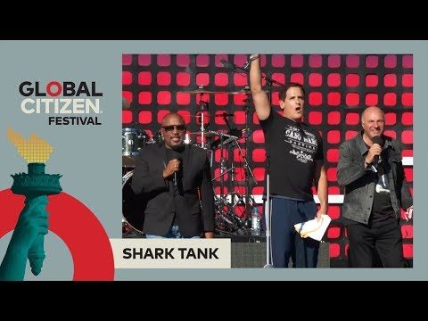Kicking Off the Festival With 'Shark Tank' Team | Global Citizen Festival NYC 2017