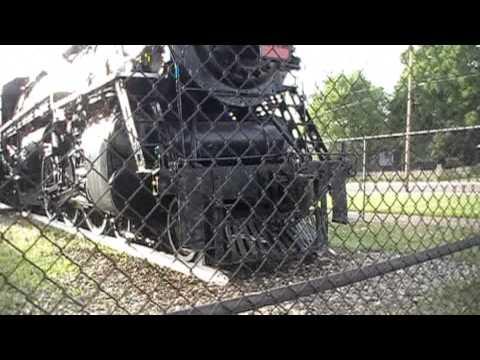 Grand Trunk Western 5632 (Park Tour + Baggage Car), 06-21-2014
