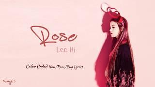 Скачать LEE HI 이하이 ROSE Lyrics Han Rom Eng