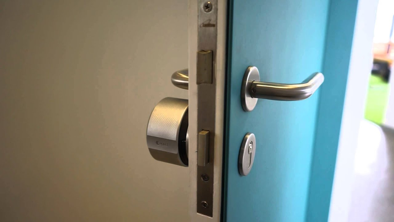 August Lock Install On Euro Style Lock Youtube