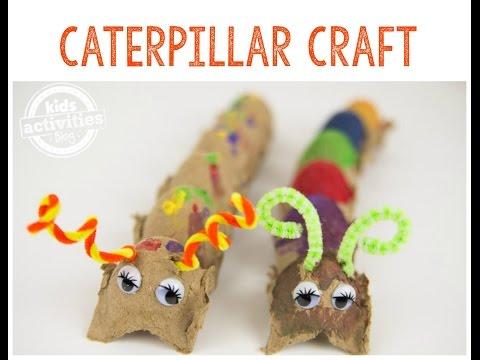 Caterpillar Craft -- A Fun Project for Preschoolers!