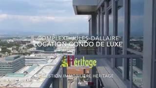 LOCATION CONDO DE LUXE - Complexe Jules-Dallaire - Québec
