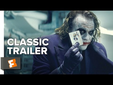 The Dark Knight (2008) Official Trailer #1 - Christopher Nolan Movie HD poster