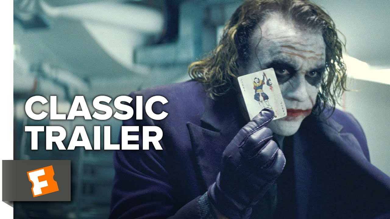 The Dark Knight 2008 Official Trailer 1 Christopher Nolan Movie Hd