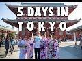 5 Days in Tokyo - Exploring Japan Solo