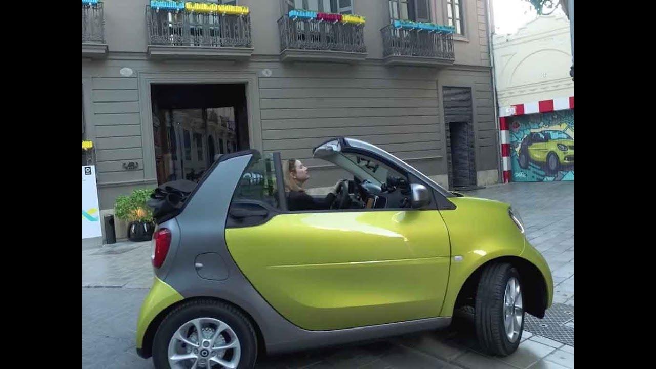 2017 Smart Fortwo Cabrio Amazing Turning Radius 22 8 Ft