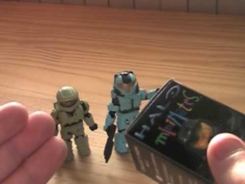 Minimates Halo Review Halo Minimates Single Packs