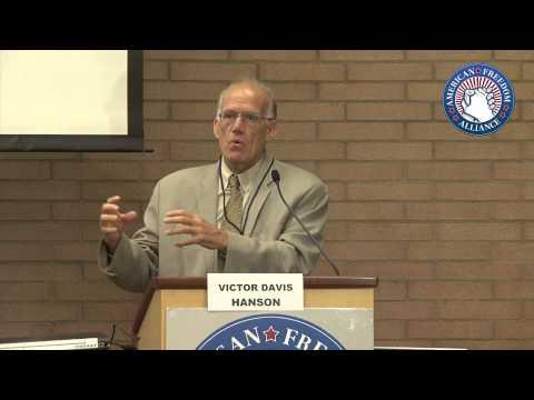 "Victor Davis Hanson at the AFA's ""Failing Grades"" conference"