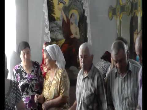 parohia Izvoare din Falesti la 15 iulie 2012