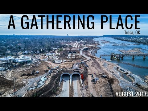 A Gathering Place Tulsa, OK - Drone Optix