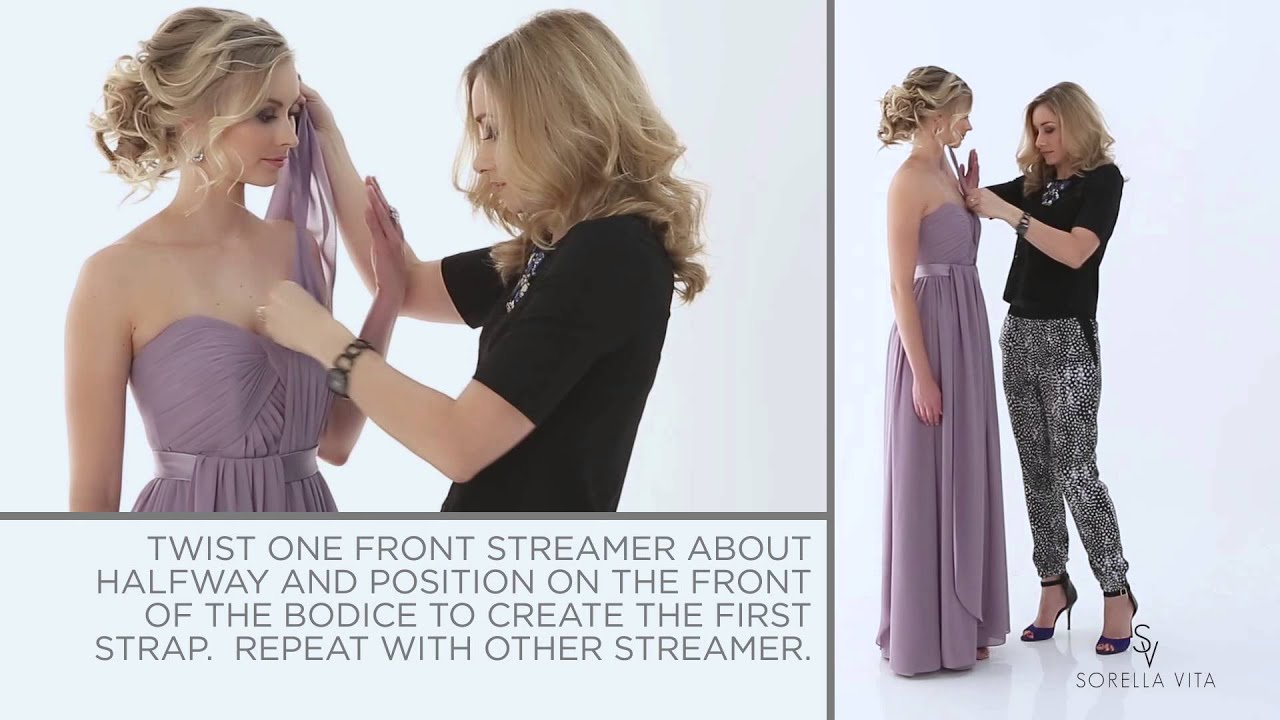 Convertible bridesmaid dress pretty with a twist maid your way convertible bridesmaid dress pretty with a twist maid your way youtube ombrellifo Gallery