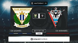CD Leganés CD Mirandés MD10 D1400