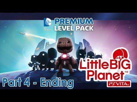 LittleBigPlanet Vita DC Comics Walkthrough | Part 4 | Mecha-Lex Madness