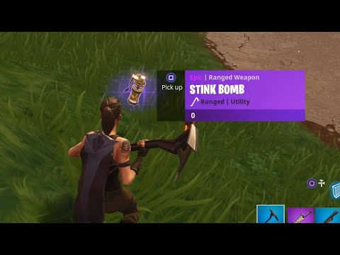 "NEW Fortnite ""Stink Bomb"" GAMEPLAY! - NEW Fortnite UPDATE! (Fortnite Battle Royale)"