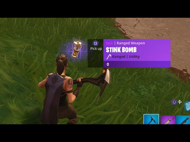 "NEW Fortnite ""Stink Bomb"" GAMEPLAY! - NEW Fortnite UPDATE! (Fortnite Battle Royale)"