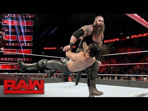 Seth Rollins vs. Braun Strowman: Raw, Oct. 2, 2017