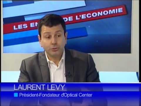 3e14644d3238e4 Interview Laurent Levy (Optical Center) - Guysen TV le 7 Novembre 2010