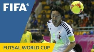 Brazil overwhelm Japanese defences