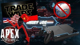 AJS News - PS5 Leaks, Trade War vs Video Games, US Loot Box Ban, Apex Legends Decline!