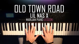 how-to-play-lil-nas-x---old-town-road-piano-tutorial-lesson-sheets